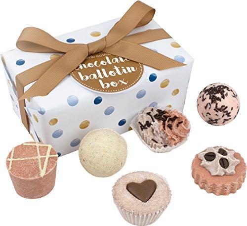 Bomb cosmetics cioccolato ballotin assortimento di bath gift set