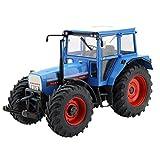 Schuco 450779100 - Traktor Eicher 3125, Masstab 1:32, Auto Und Verkehrsmodell, Blau