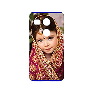 BLUEDIO Designer 3D Printed Back case cover for LG Nexus 5X - G6859