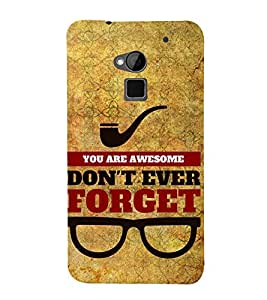 You Are Awesome 3D Hard Polycarbonate Designer Back Case Cover for HTC One Max
