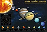 Posters: Le Système Solaire Posters XXL - Notre Système Solaire (120 x 80 cm)