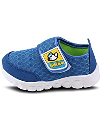 O&N Kids Boys Girls Toddler Breathable Mesh Slip On Athletic Exercise Walking Outdoor Sports Water Shoes