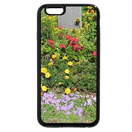 iPhone 6S Plus Case, iPhone 6 Plus Case (Black & White) - Fountain Invermere Golf Course BC - Canada -