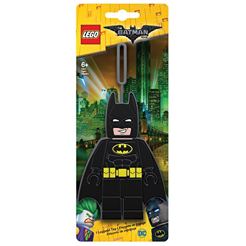 Lego Lego Batman Movie - Étiquette Bagage Luggage Tag, 13 cm, Black (Noir)