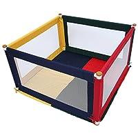 TikkTokk Pokano Fabric Playpen/Mat (Square, Colourful)