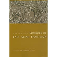 Sources of East Asian Tradition – Premodern Asia V 1