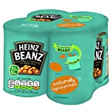 Heinz Baked Beans in Tomato Sauce, 415 g (Pack of 4)