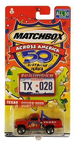 matchbox-across-america-50th-birthday-series-texas-dodge-dakota-truck-by-matchbox
