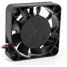 Ventilador de Enfriamiento de Placa de Circuitos de 40mm x 10mm DC 24V 0.10A 2 Clavijas 5000RPM 4.85CFM