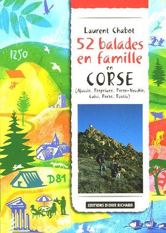 52 balades en famille en Corse