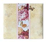 Ursus 71000002 - Scrapbook Album Butterfly, ca. 30,5 x 30,5 cm, mit 10 Schutzhüllen, erweiterbar