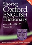 Shorter Oxford English Dictionary (fifth edition) on CD-ROM. Windows version 2.0.