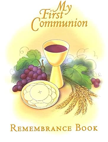 My First Communion Remembrance
