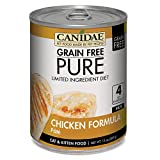 Canidae Grain Pure Limited Ingredient Diet Cat Wet Food Pt with Chicken, 13 oz (12-Pack)