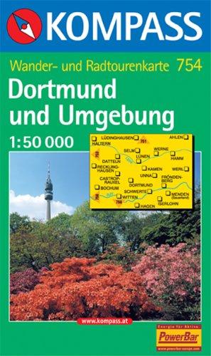 Kompass Karten, Dortmund und Umgebung