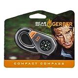 Gerber Bear Grylls Compact Compass - Grey