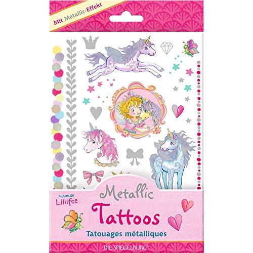 Spiegelburg 13848 Metallic Tattoos Prinzessin Lillifee