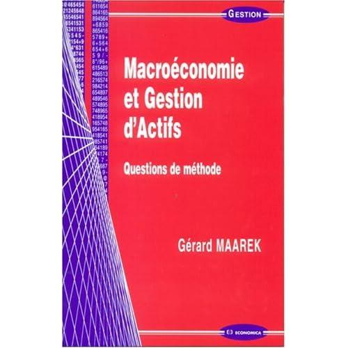 Macroéconomie et gestion d'actifs : Questions de méthode