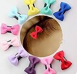 Mädchen-Haarspangen mit Schleifchen von cuhair(TM), 8Stück