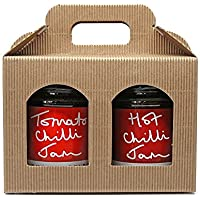 What a Pickle Hot Chilli Jam 290g & Tomato Chilli Jam 290g Double Pack