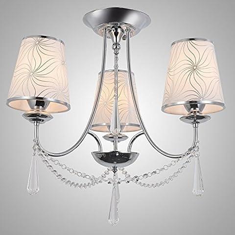 Lampadari ,Create For Life® 3 luci lampadario di cristallo, lo