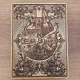 Star Wars - Millennium Falcon Wooden Engraved Art, Unique Design by Engravers Dungeon - 20 x 15 cm