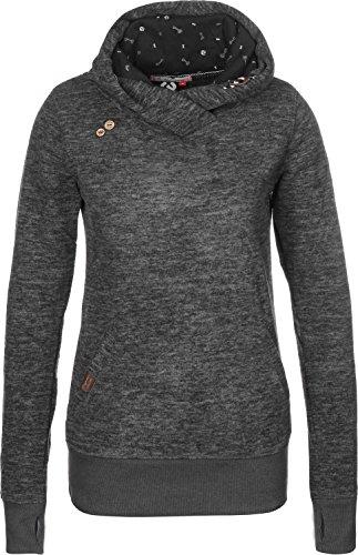 Hulker/ragwear - Ragwear Terry Sweatshirt Femme gris chiné