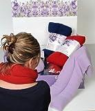 Scaldacollo riscaldante con Noccioli di lavanda cuscino termico - Sciarpa