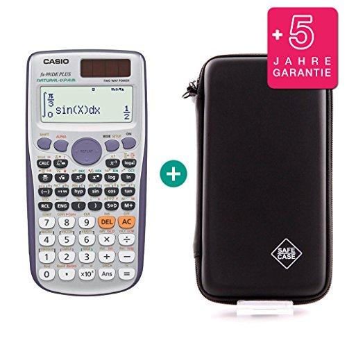 Casio FX 991 DE Plus + Schutztasche + Erweiterte Garantie