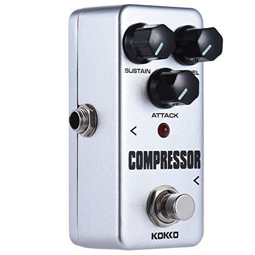 ammoon Kokko Gitarren effekt pedal FCP2 Mini kompressor Portable Pedal (Wechselstrom Kompressor-adapter)