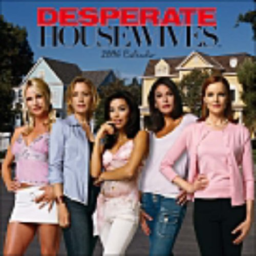 Click for larger image of Desperate Housewives: Wall Calendar 2006