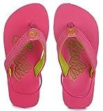 Barbie Girl's Pink/Green Flip-Flops-1 UK/India (33 EU) (BBPGFF0125)