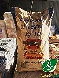 SACCO 10KG CARBONELLA CARBONE LEGNA BARBECUE GRIGLIATE CARNE FUOCO PROFESSIONALE
