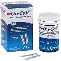 Preisvergleich für GK Dual Ketone Teststreifen im günstigen 3-er Pack von Swiss Point Of Care | passend für den On Call® GK Dual...