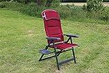 Quest Bordeaux Pro XL Recline Chair With Side Table