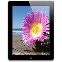 Apple iPad 4 WiFi + Cellular 32GB 24,6 cm(9,7 Zoll) LED-beleuchtete Multi-Touch-Display Tablet (Dual-core A6X mit quad-core graphics, Bluetooth 4.0 wireless technology) (Zertifiziert und Generalüberholt) Schwarz