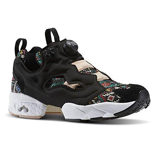 info for 1351d a507d Reebok InstaPump Fury GT BD3095 sneakers donna scarpe da ginnastica  aerobica (40, NERO)