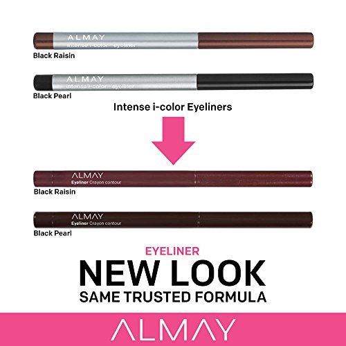 Almay intense i-color Eyeliner, Bring Out the Brown, Purple Amethyst 001, 0.009 Ounce Package
