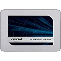 Crucial CT1000MX500SSD1Z 1000 GB 2.5 Inch 7 mm M x 500 SATA Solid State Drive with 9.5 mm Adapter