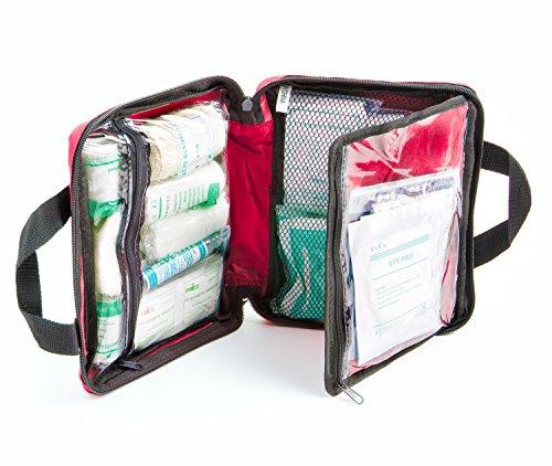 Erste-Hilfe-Set mit Kühlakkus, Augenspülung und Rettungsdecke 90-teilig - 5