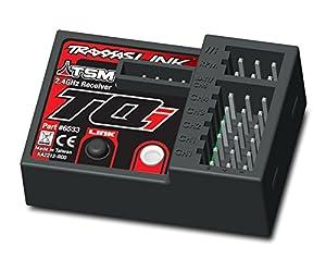 Traxxas 6533 Receptor Pieza para maquetas Radio Control (RC) - Piezas para maquetas Radio Control (RC) (Receptor,, Coche, Negro, Rojo, De plástico)