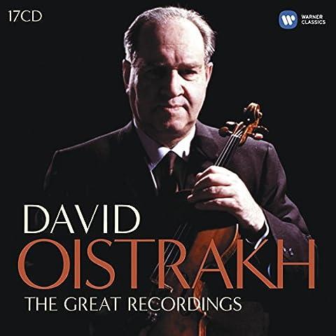 David Oistrakh : L'intégrale des enregistrements EMI (Coffret 17