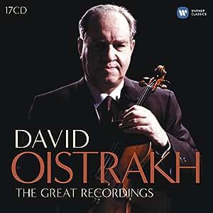 David Oistrakh : L'intégrale des enregistrements EMI (Coffret 17 CD)