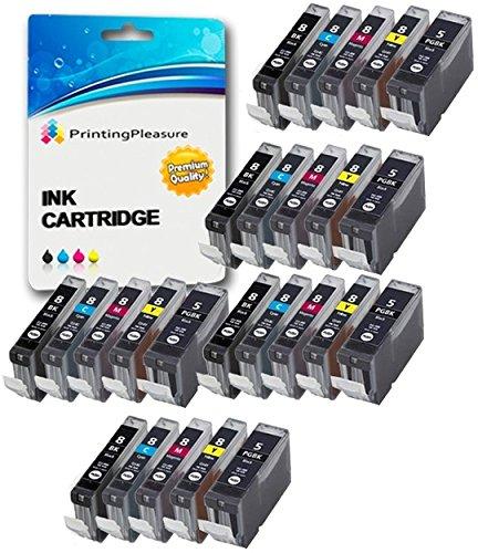 25 Compatibili PGI-5 CLI-8 Cartucce d'inchiostro per Canon Pixma MP500 MP530 MP600 MP600R MP610 MP8