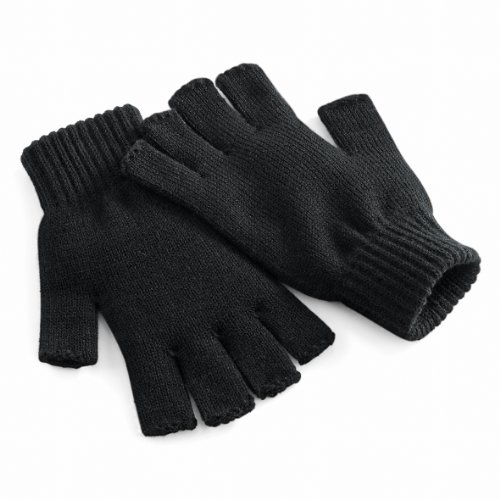 Beechfield Unisex Winter-Handschuhe, fingerlos Small / -