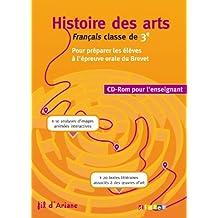 Histoire des Arts 3e - CD-rom enseignant
