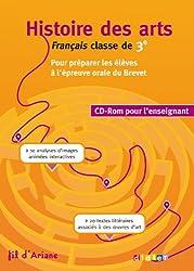Histoire des Arts 3e - CD Rom enseignant