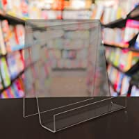 EPOSGEAR XL Extra Large Wide Plastic Acrylic Perspex Book Plate Retail Display Stand Holder - Perfect for Schools, Nurseries, Libraries etc