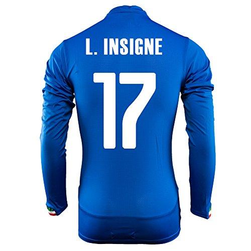 Puma L.Insigne # 17 Italien Home Jersey WM 2014 Langarm (XL) (Jersey Home Italien)