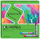 #2: Youva Oil Pastels (Pack of 50)